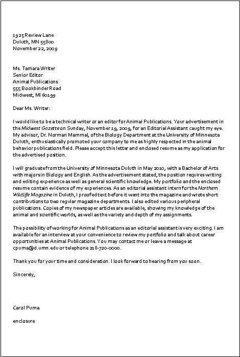 Sample inquiry letter  sample cover letter written to inquire about potential job openings at a
