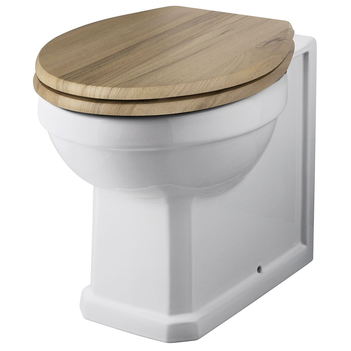 Hudson Reed Carlton Back To Wall Toilet Wc 520mm Projection