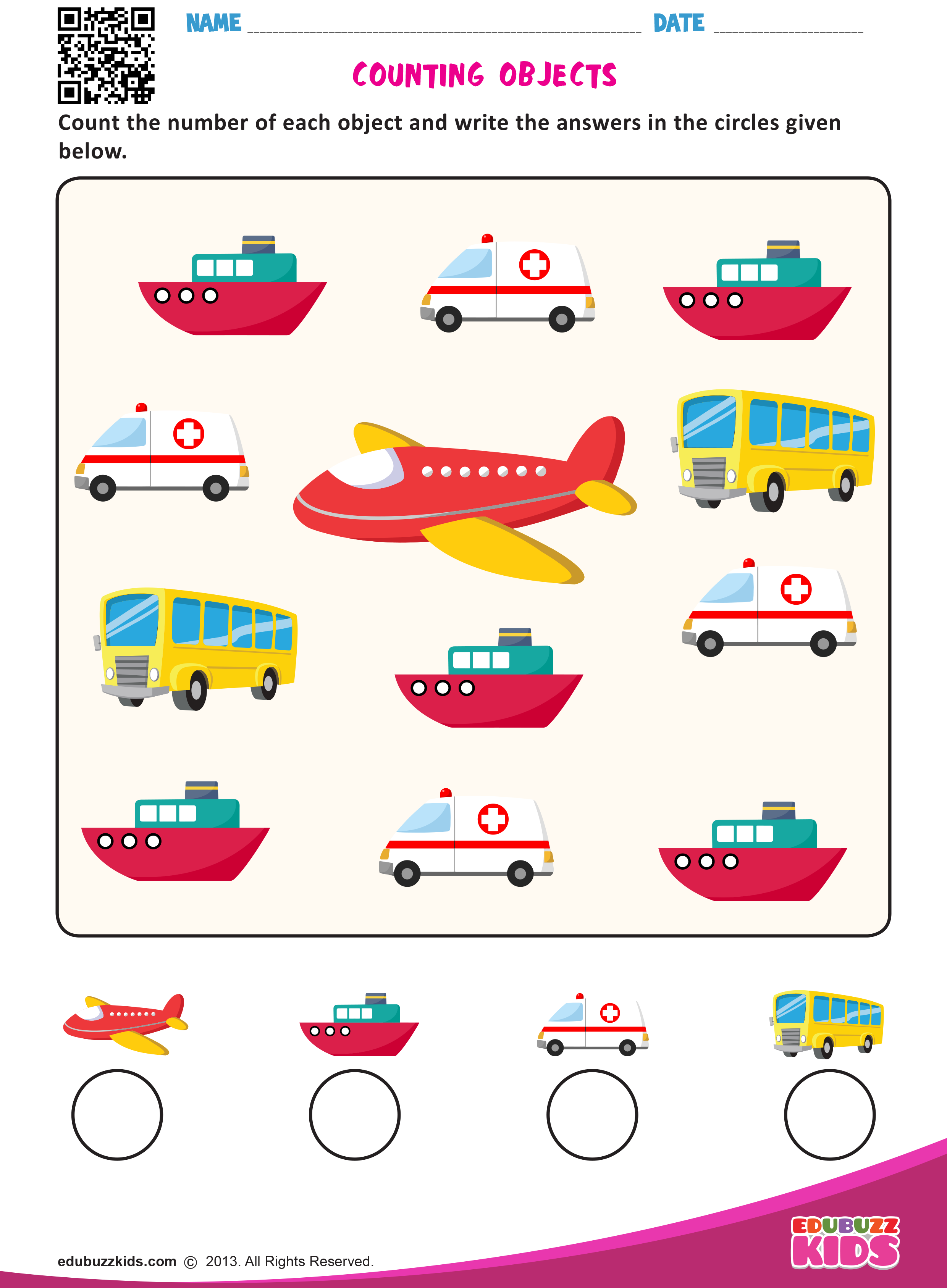 Printable Preschool Worksheets That Help Kids To Practice