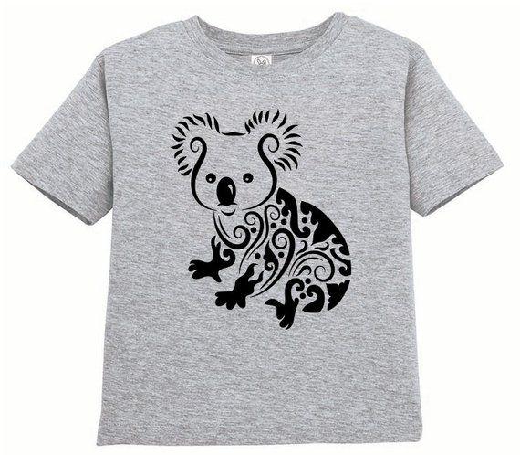 7f63089f CLEARANCE, Kids Clothing, Kids Shirt, Toddler, Koala Bear T Shirt ...