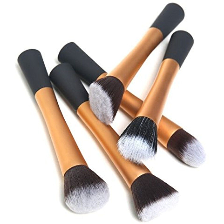 FUNNY365 Makeup Brushes Set 5pcs Foundation Contour