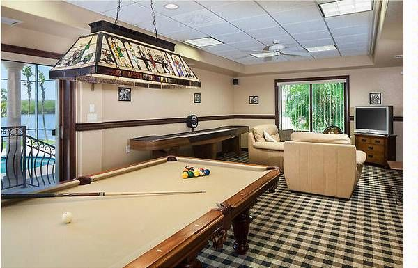 Small Man Cave Pool Table : Square feet basement man cave google search small
