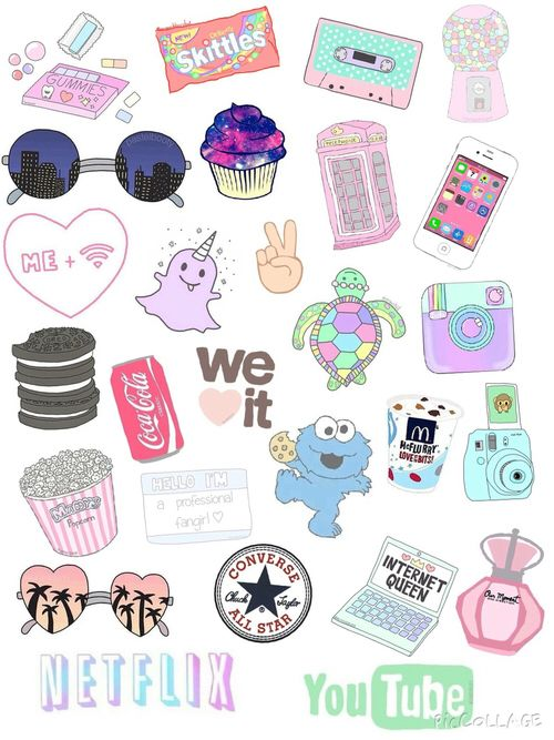 Impeccable image pertaining to aesthetic printable stickers