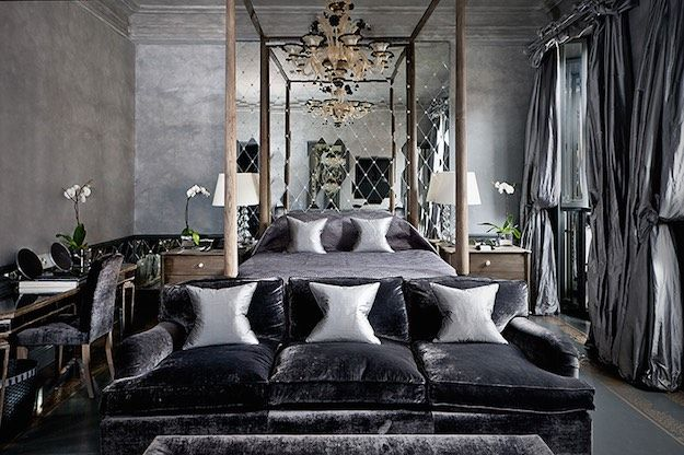 dark colors sexy bedroom ideas everything you need for a romantic rh pinterest com Romantic Master Bedroom Ideas Romantic Master Bedroom Ideas