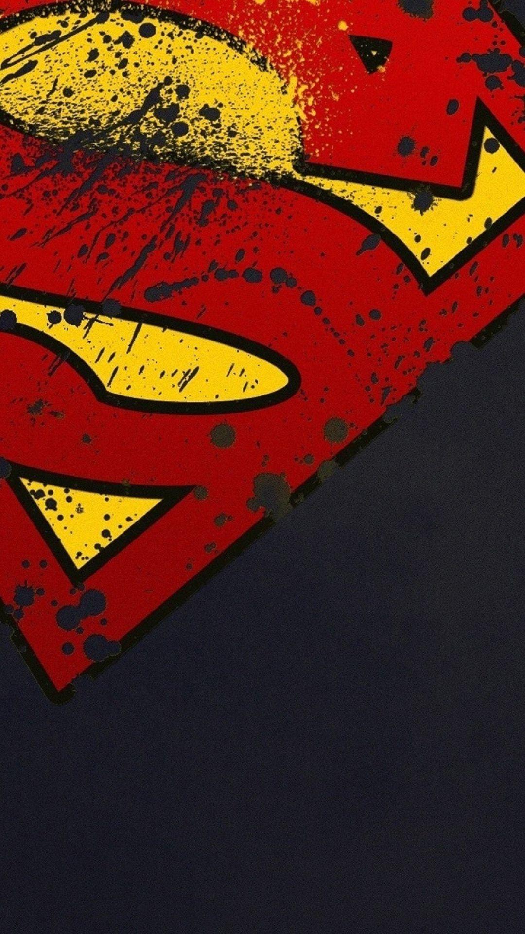 Movies iPhone 6 Plus Wallpapers Superman Logo Minimal