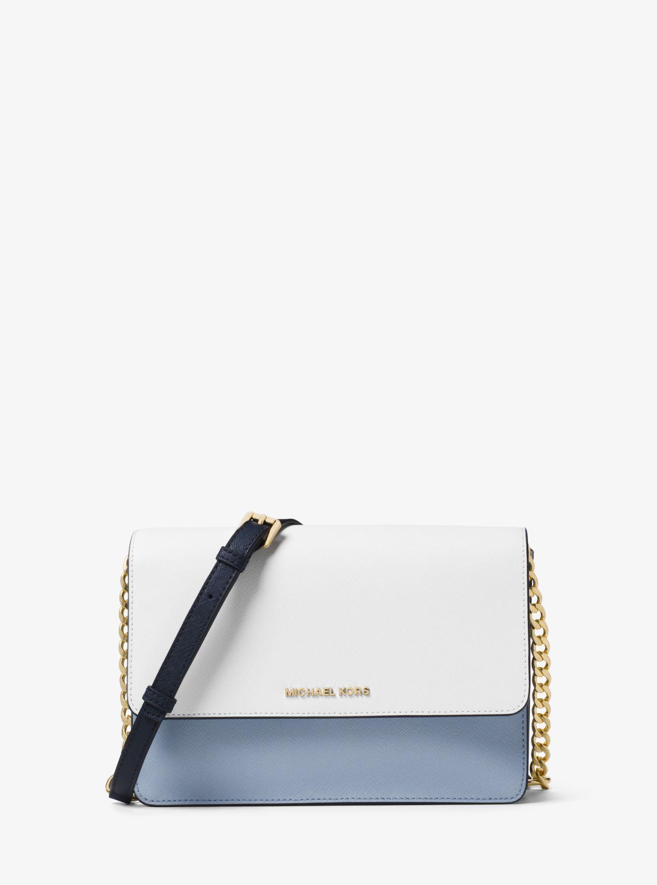 c4e1d4a2c97d Daniela Large Color-Block Saffiano Leather Crossbody Mini Handbags, Purses  And Handbags, Small