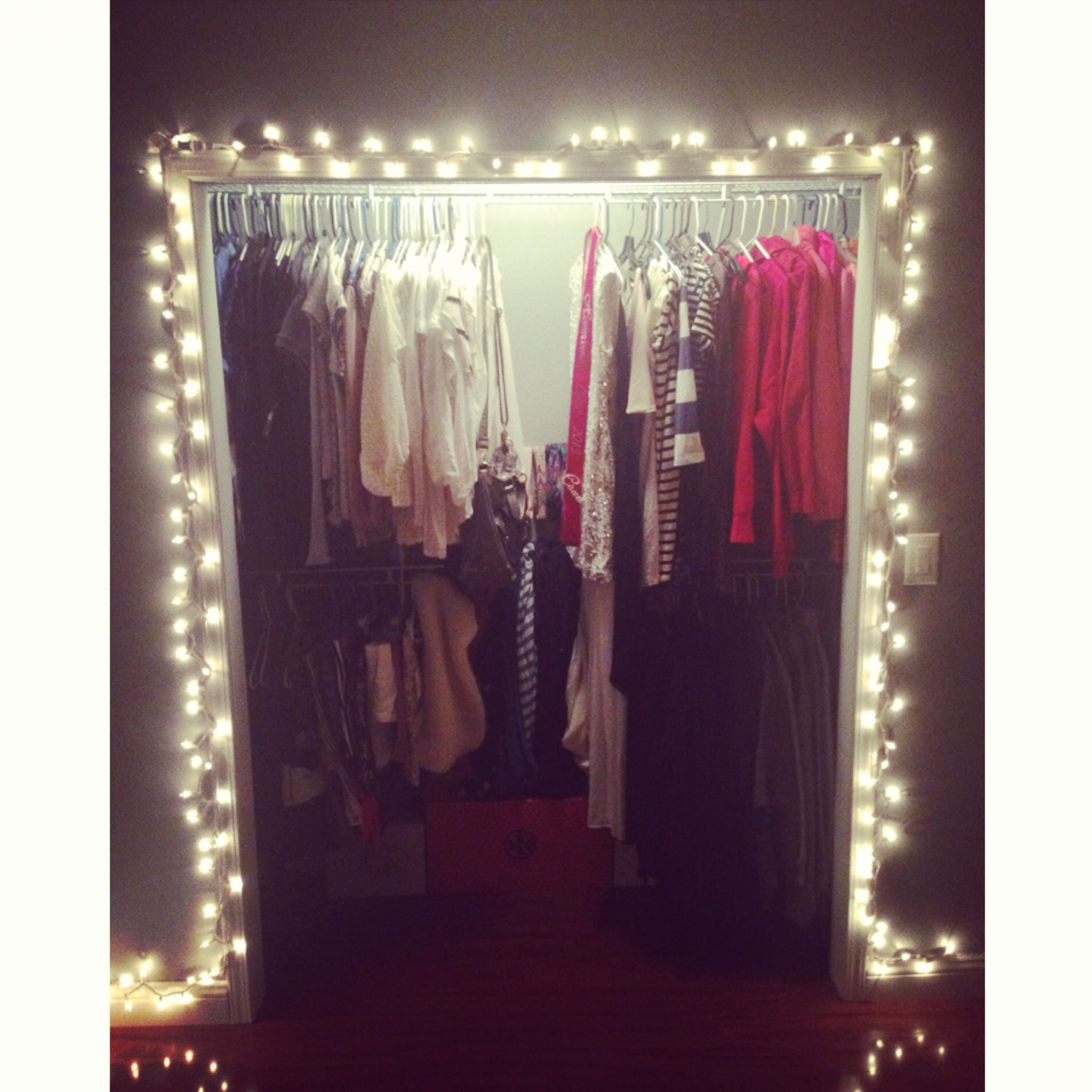 Cheap Easy Hacks To Update Your Home For Closet Redo - Where can i buy string lights for my bedroom