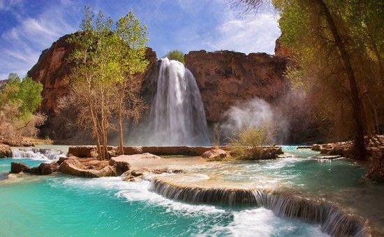 Havasu Falls Grand Canyon National Park Httpwwwwonderslist - 10 waterfalls to see before you die