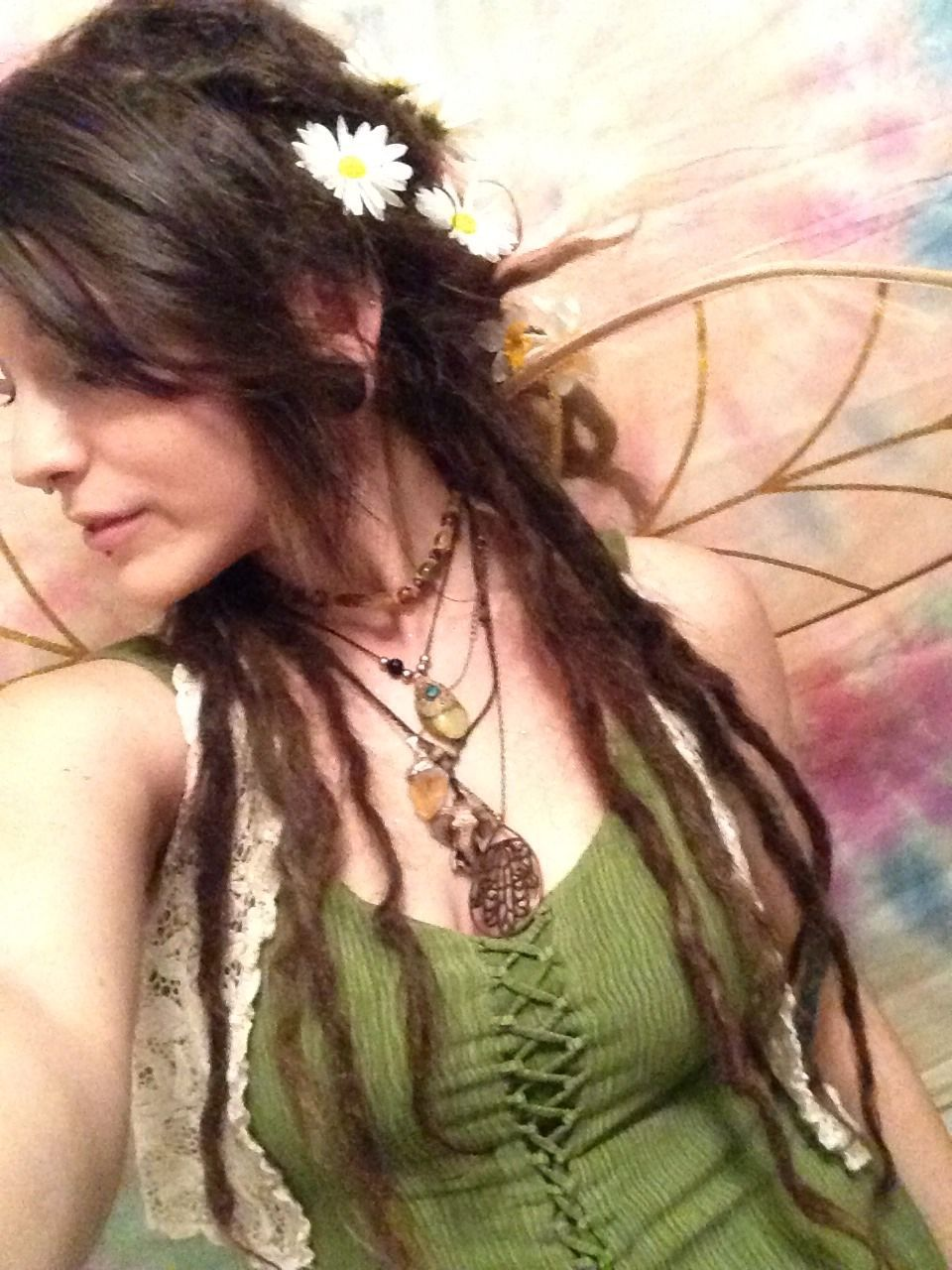 sleepyroots one of my halloween costumes forest fairywood nymphmystical creature - Mystical Halloween Costumes