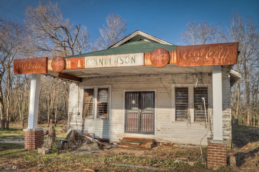 Abandoned buildings old country stores old general