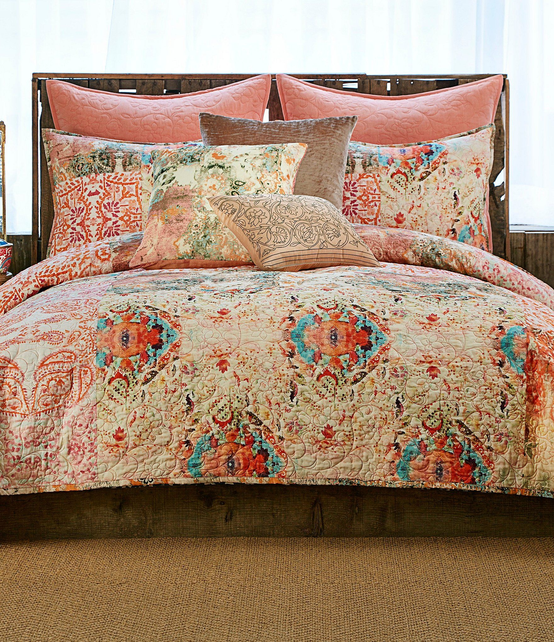 Poetic Wanderlust by Tracy Porter Wish Cotton Voile Quilt ... : dillards quilts - Adamdwight.com