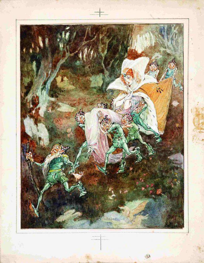 S. Canevari - Come finì mago Veleno. Fiabe (1918)