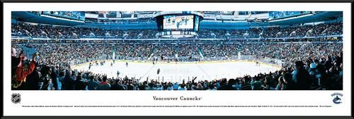 Vancouver Canucks Framed Panoramic Photo