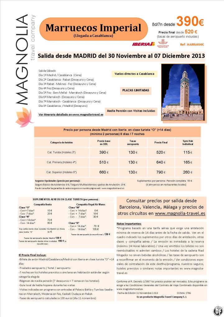Puente de Diciembre - Marruecos 8ds/7nts en MP salida Madrid desde 390 € - http://zocotours.com/puente-de-diciembre-marruecos-8ds7nts-en-mp-salida-madrid-desde-390-e-2/