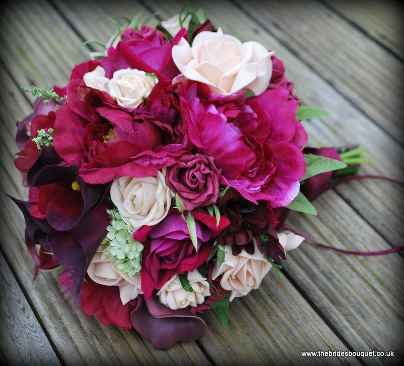 Winter Wedding Flowers Uk: Winter Themed Bridal Flowers