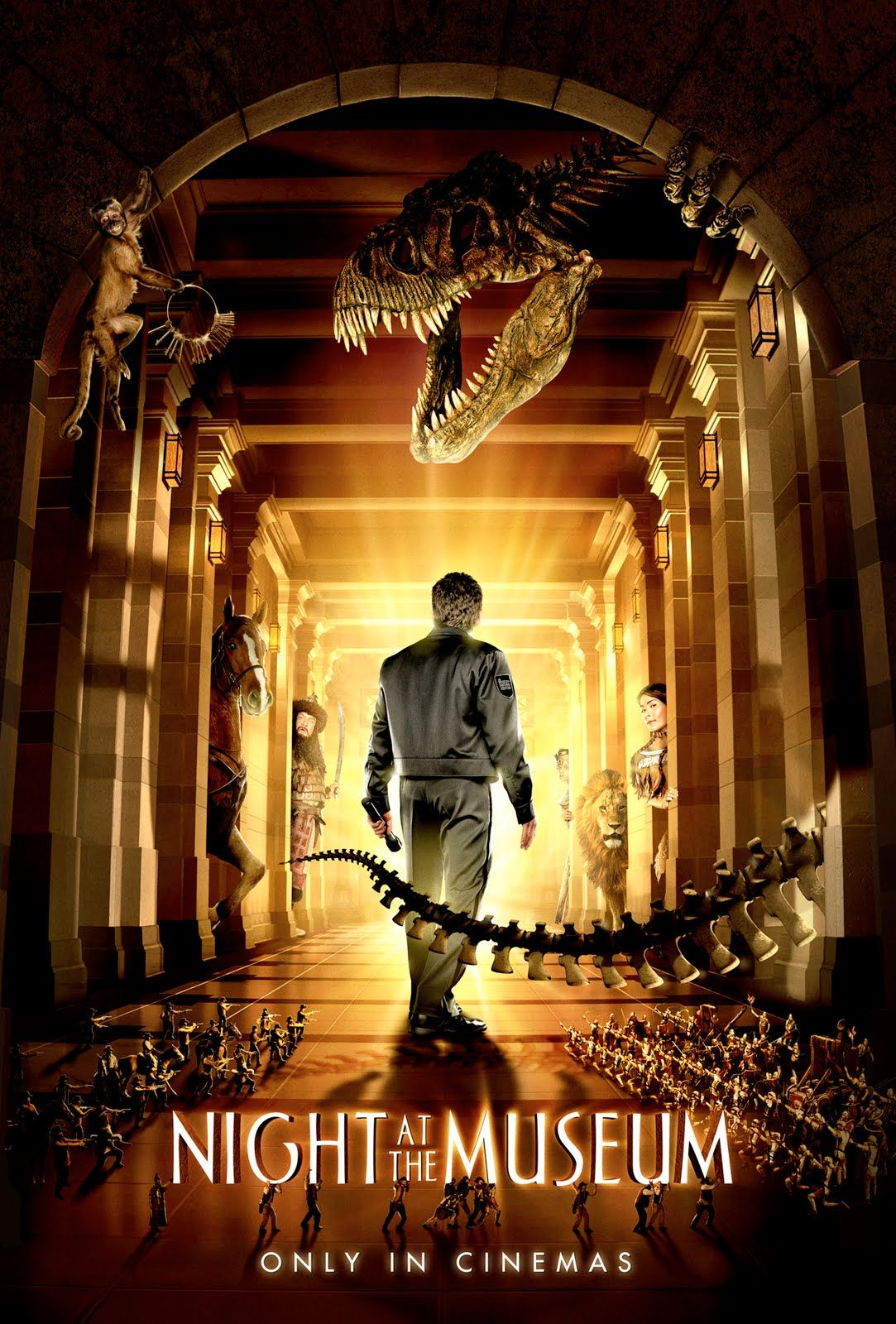Night at the museum Fantasy based on a