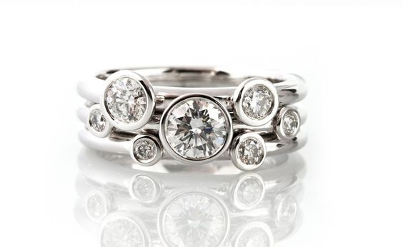 Right Hand Diamond Rings Right Hand Rings Diamond Stacking Rings Stackable Diamond Rings