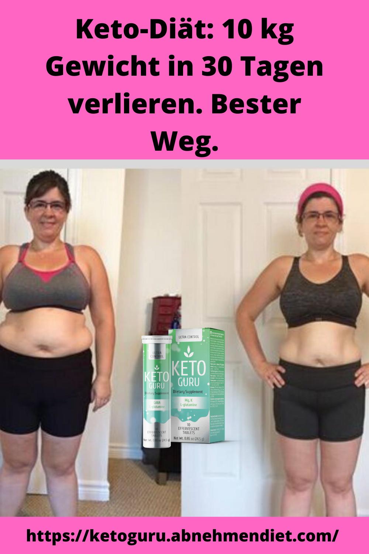 Kombination von Ergänzungen, um schnell Gewicht zu verlieren