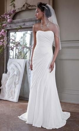 78715cb0a614 David's Bridal V3540 wedding dress currently for sale at 55% off retail.