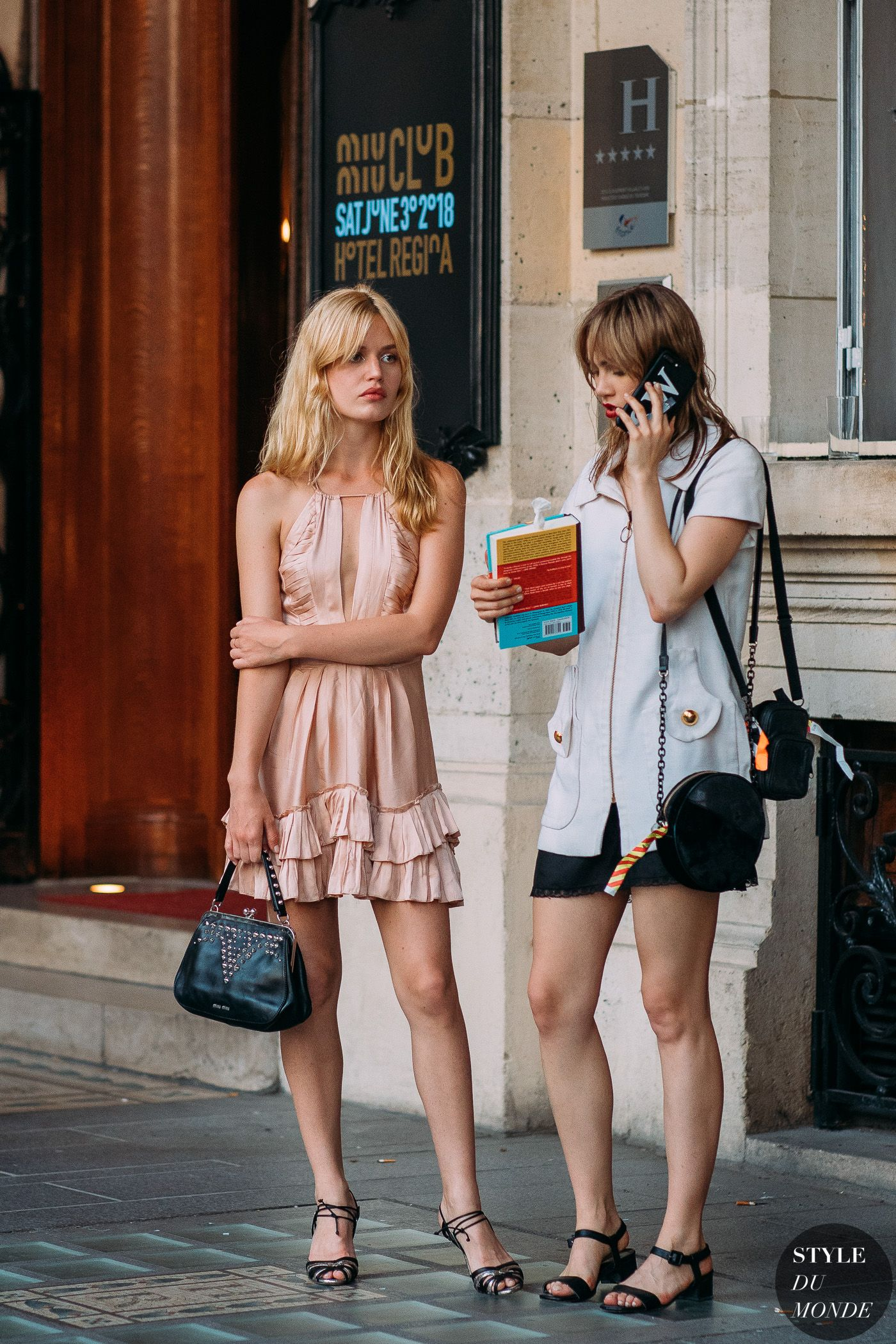 1a07be221a Georgia May Jagger and Suki Waterhouse by STYLEDUMONDE Street Style Fashion  Photography