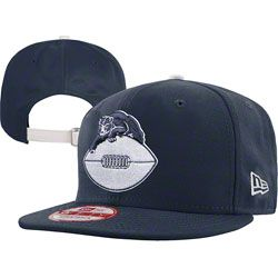 44fdeefa1cc Chicago Bears Throwback Navy NFL Leather Strapper 9FIFTY Adjustable Hat  http   www.
