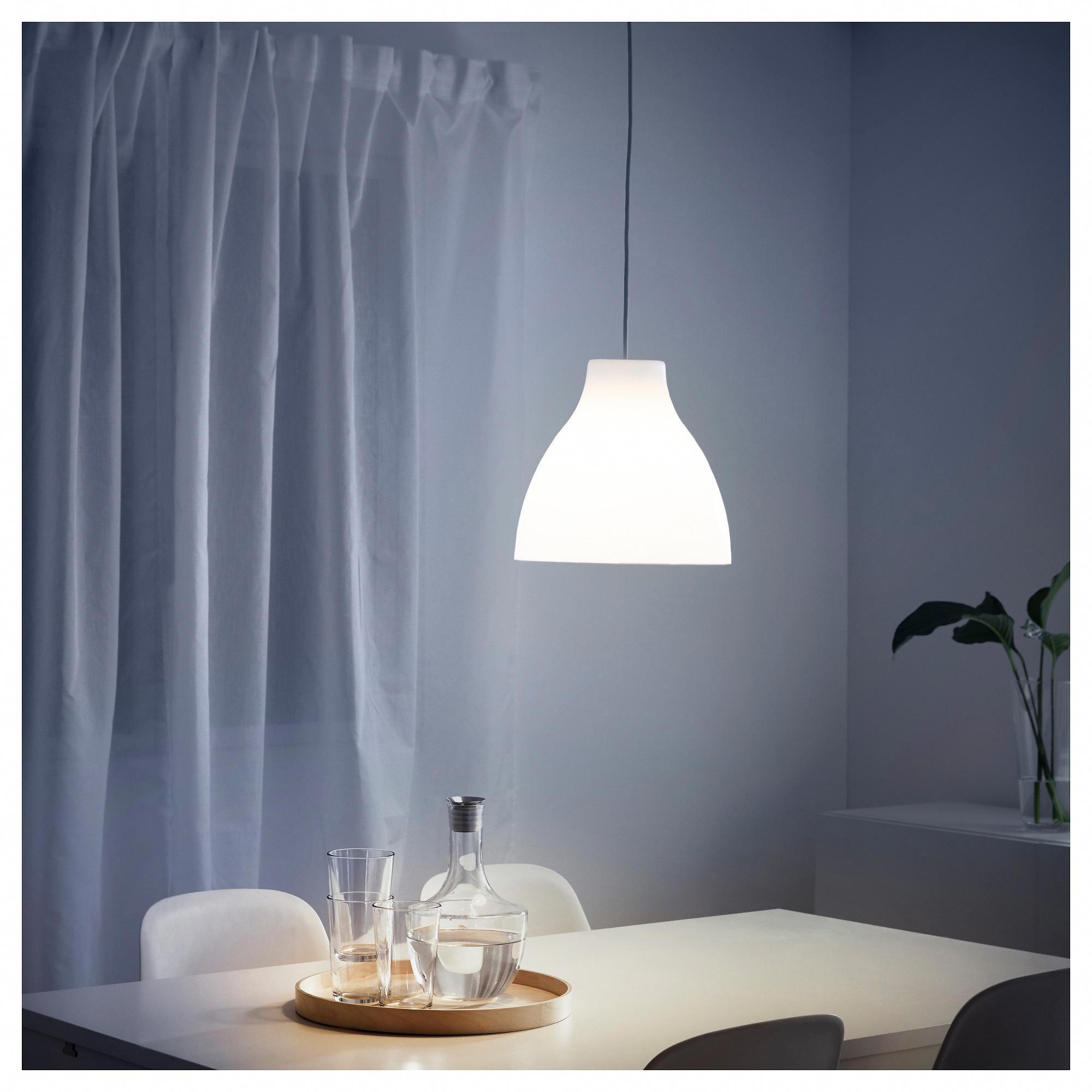 IKEA MELODI Pendant lamp white shabbychiclamp White