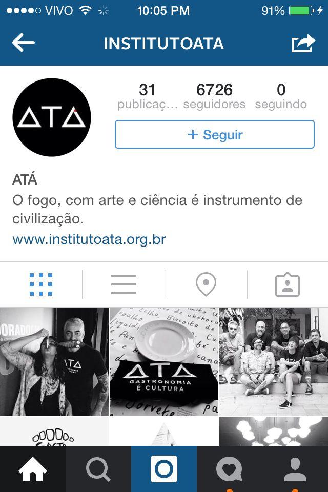 Instituto ATA. Gastronomia é Cultura
