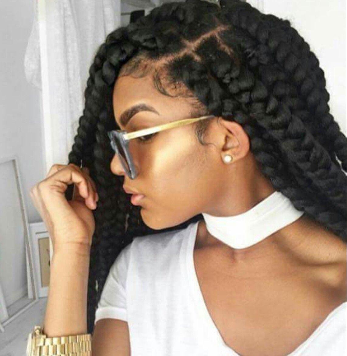Birthday Hairstyle Box Braids Hairstyles Natural Hair Styles Braided Hairstyles