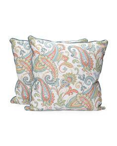 20x20 2pk Reversible Print Pillows