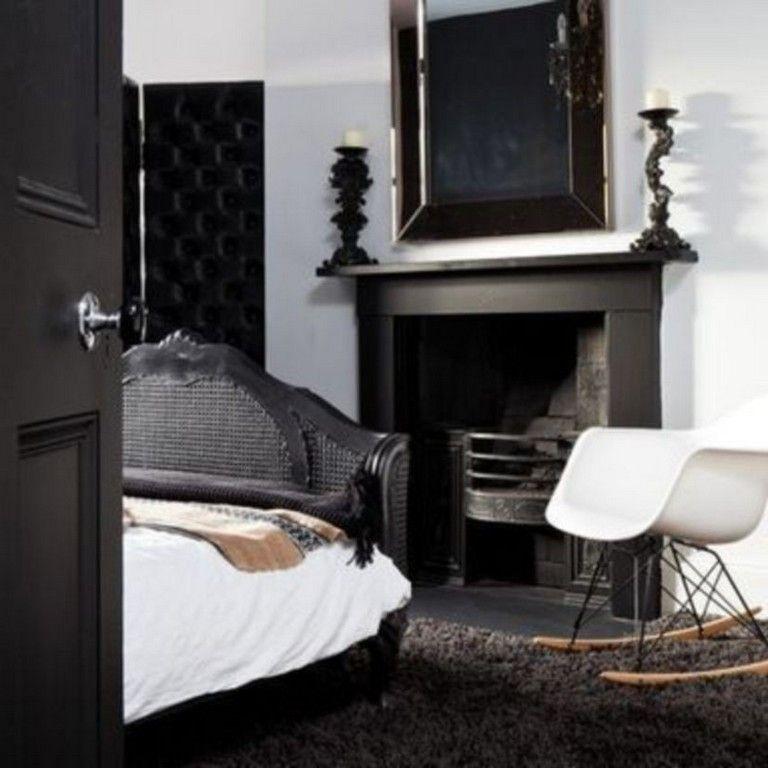42 Graceful Black Bedroom Design Ideas For Amazing Home # ...