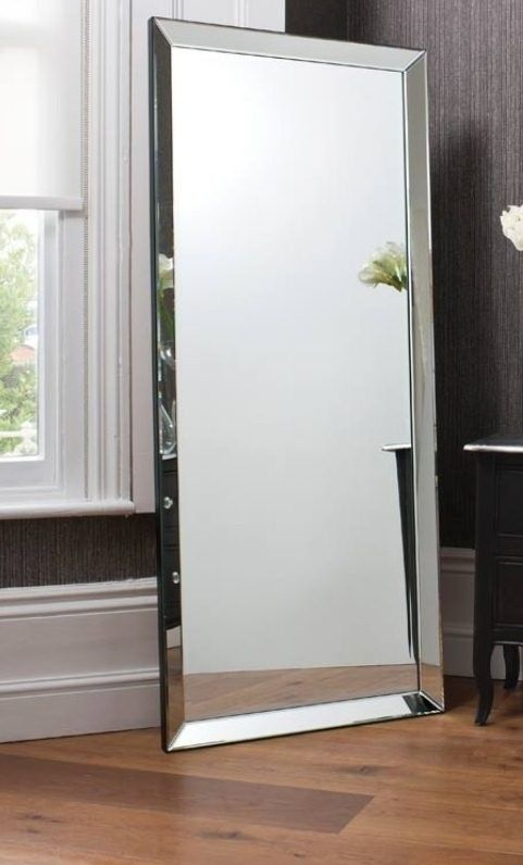 5ft10x2ft6 178x76cm Large Modern Frameless Wall Mounted Mirror