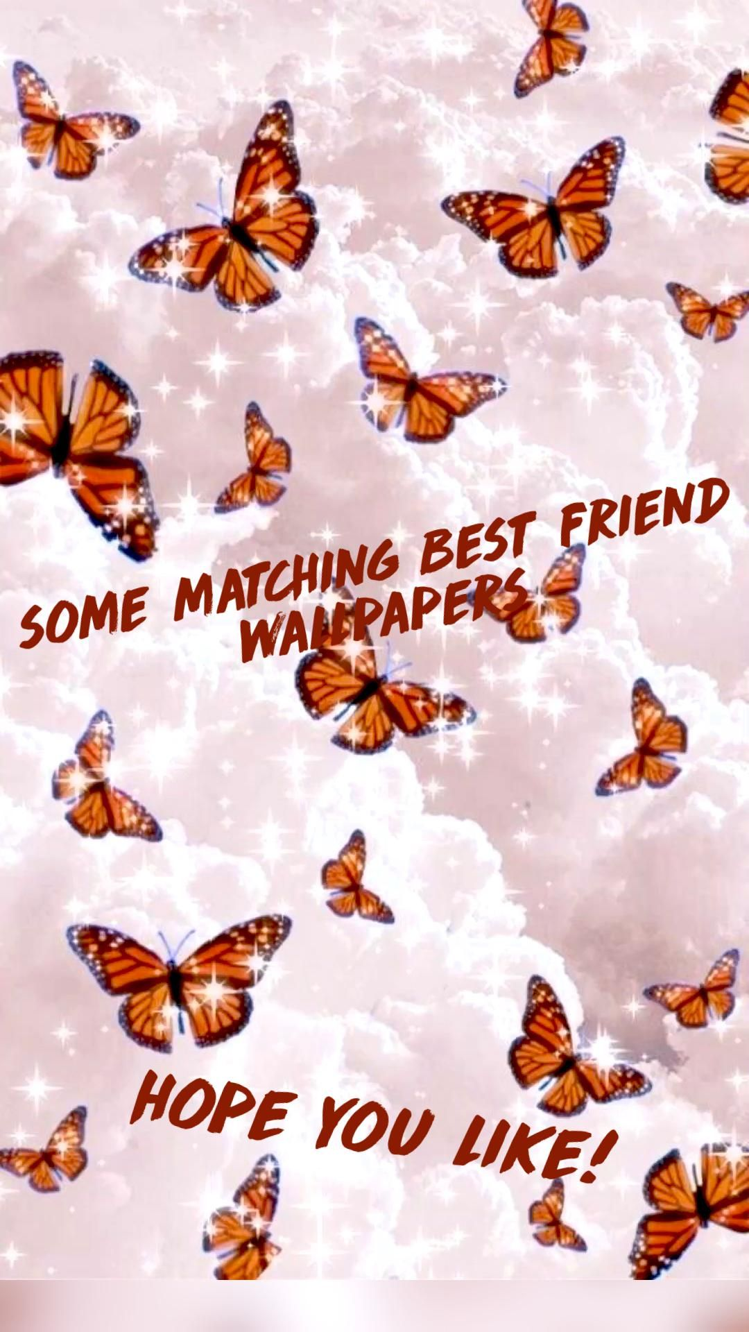 some matching best friend wallpapers