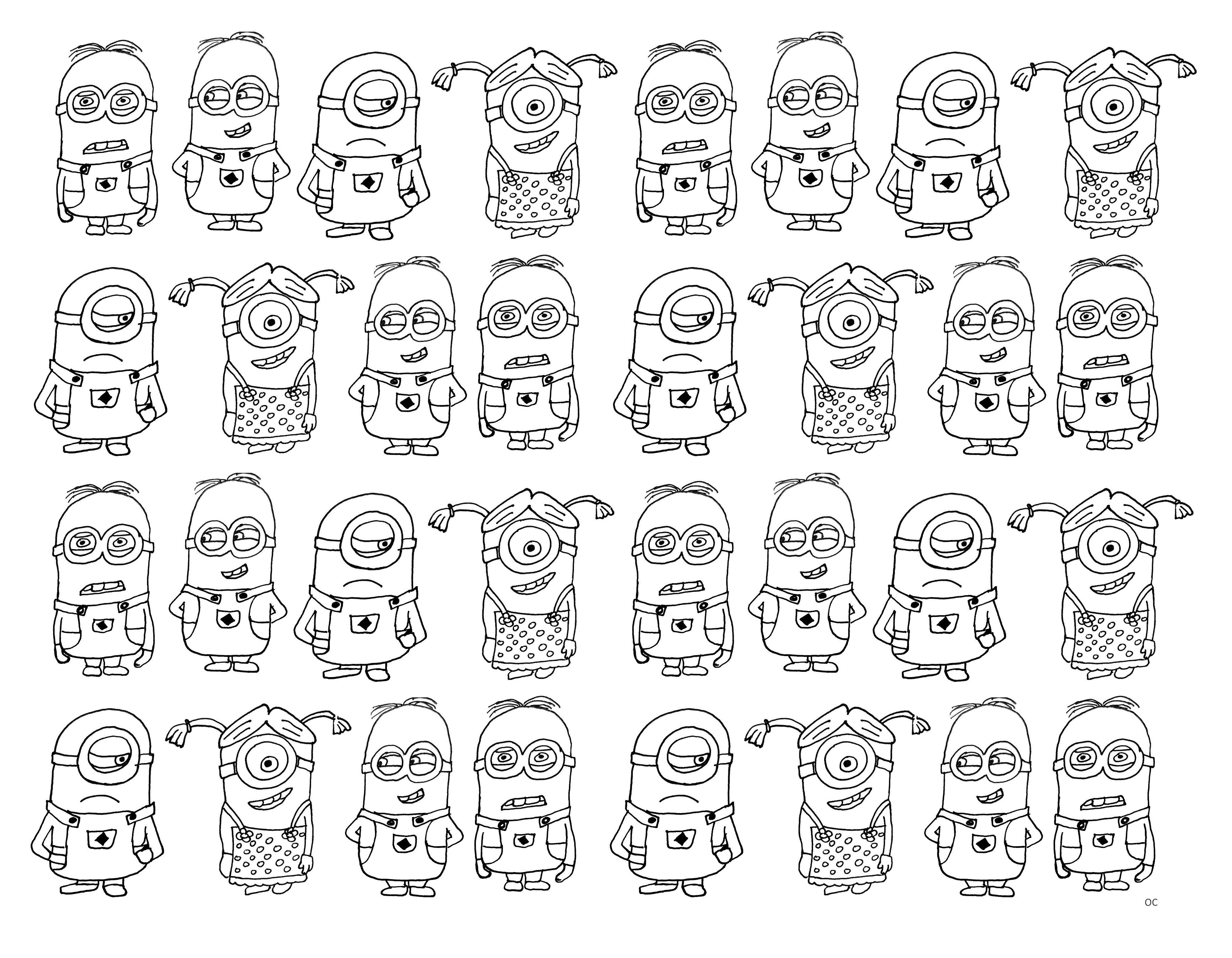 Very Numerous Minions