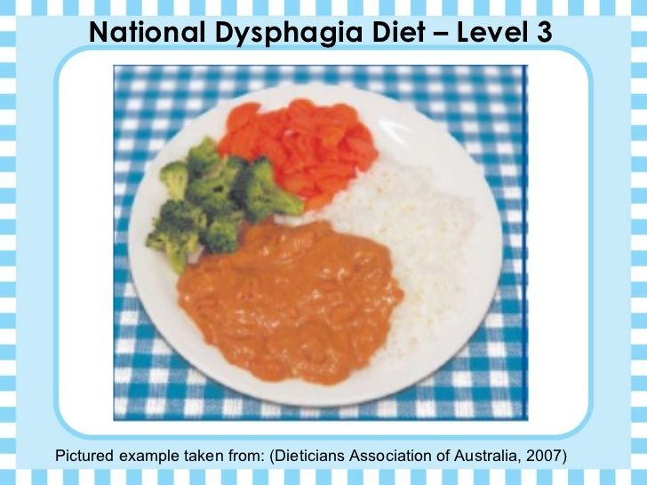 National dysphagia diet level 3 pictured example taken from national dysphagia diet level 3 pictured example taken from dieticians association of australia soft foodsnova southeastern forumfinder Gallery