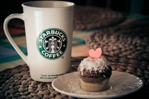 Starbucks Mug Cup Cake Heart Love HD Wallpaper