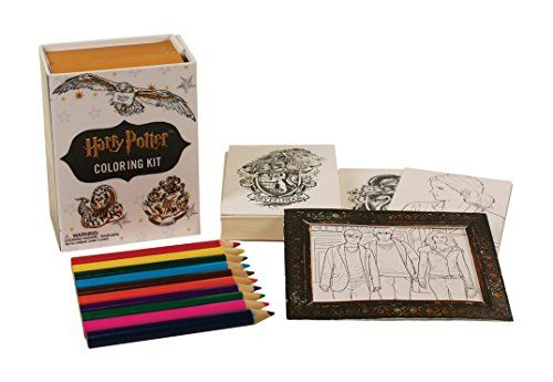 Harry Potter Coloring Kit by Running Press http://www ...