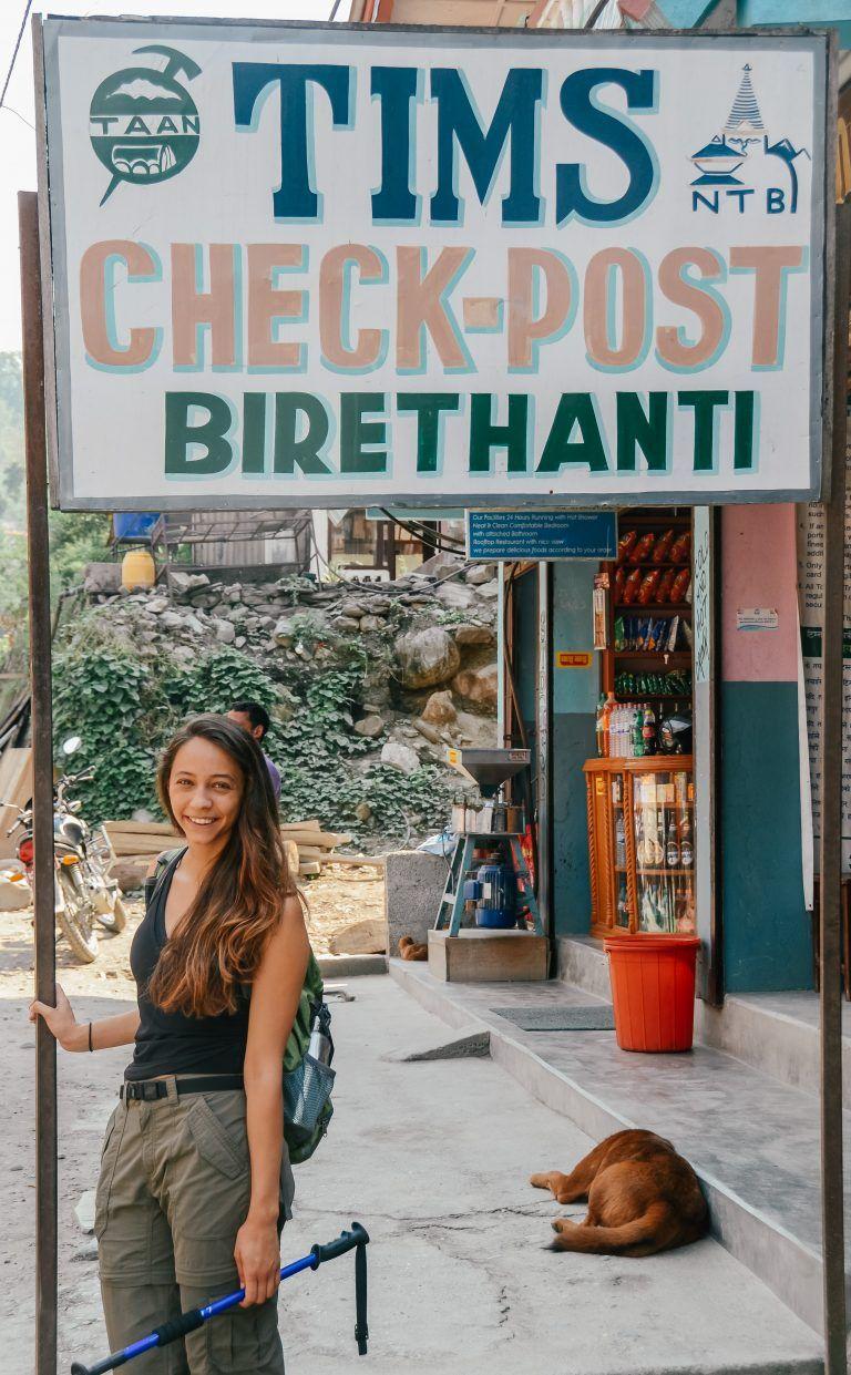 Hiking To Annapurna Base Camp, Nepal