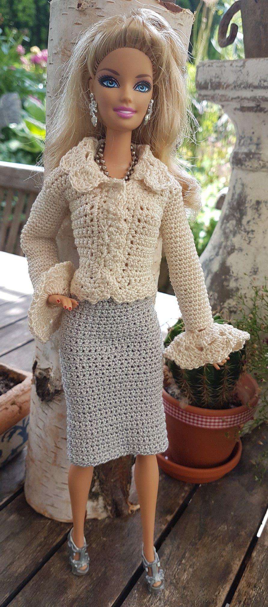 Pin de Maria Del Rosario Beninati en Ropa muñecas | Pinterest ...