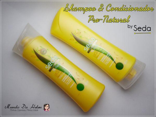 Shampoo e Condicionador Pro-Natural by Seda http://wp.me/p1x69g-1YK