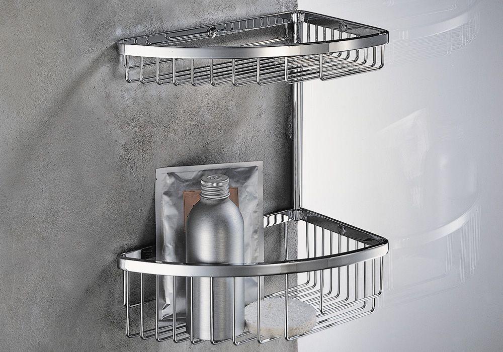 Portaoggetti per doccia colombo design arredo bagno