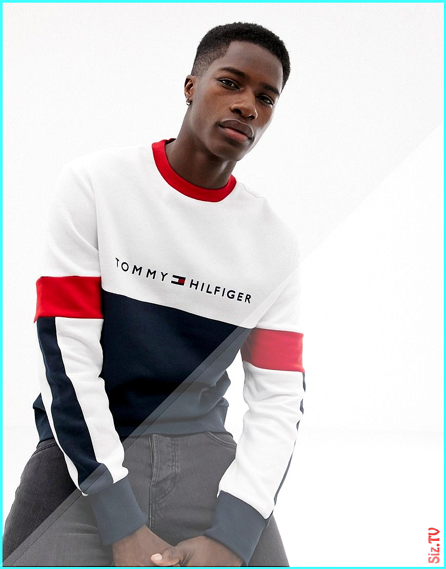 Tommy Hilfiger Mens Relaxed Fit Nautical Roll Neck Jumper