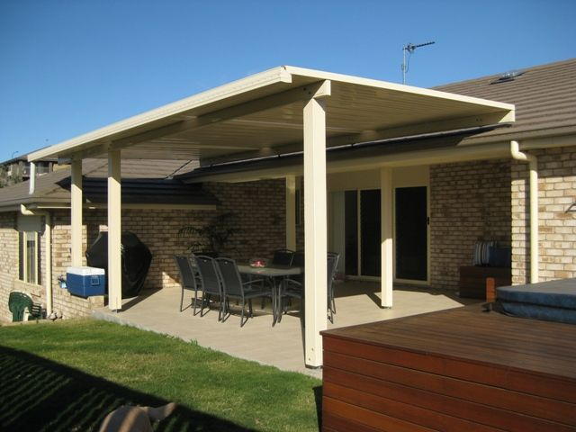 Flyover Stratco Outback Patio Roof. Patios Brisbane And Gold Coast From  DeKing. Phone 1800