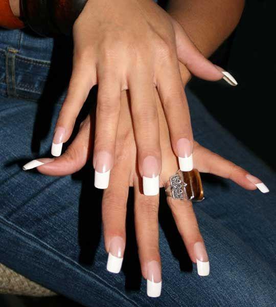 Aleida Nails Gallery French Manicure Always Elegant