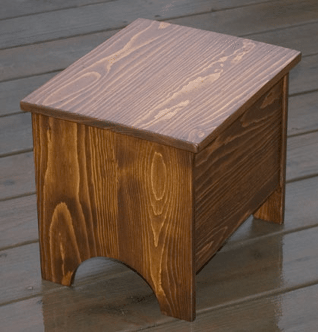 Build A DIY Wooden Step Stool With These Free Plans: RunnerDucku0027s Free Storage  Step Stool Plan