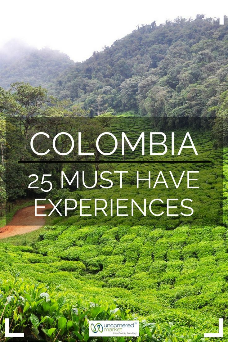 Colombia Travel In Experiences What To See Do And Eat South - 10 things to see and do in colombia