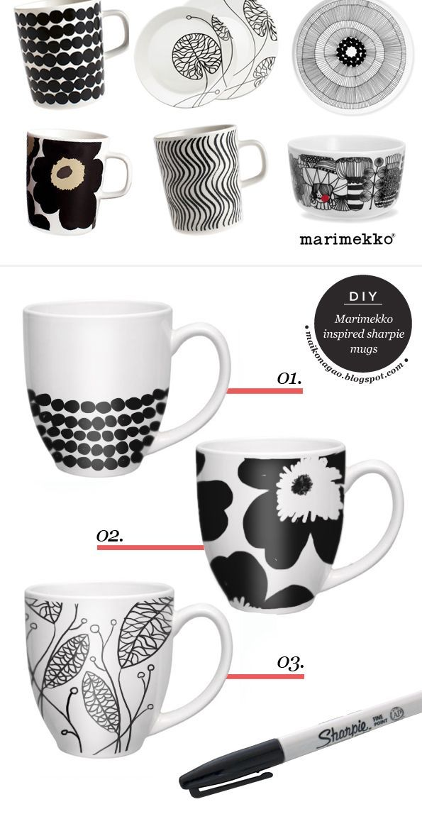 stylish design ideas unique coffee cups. Use paint markers  small and medium porcelain mugs Art club idea coffee tea art Pinterest Paint Markers Porcelain Zentangle