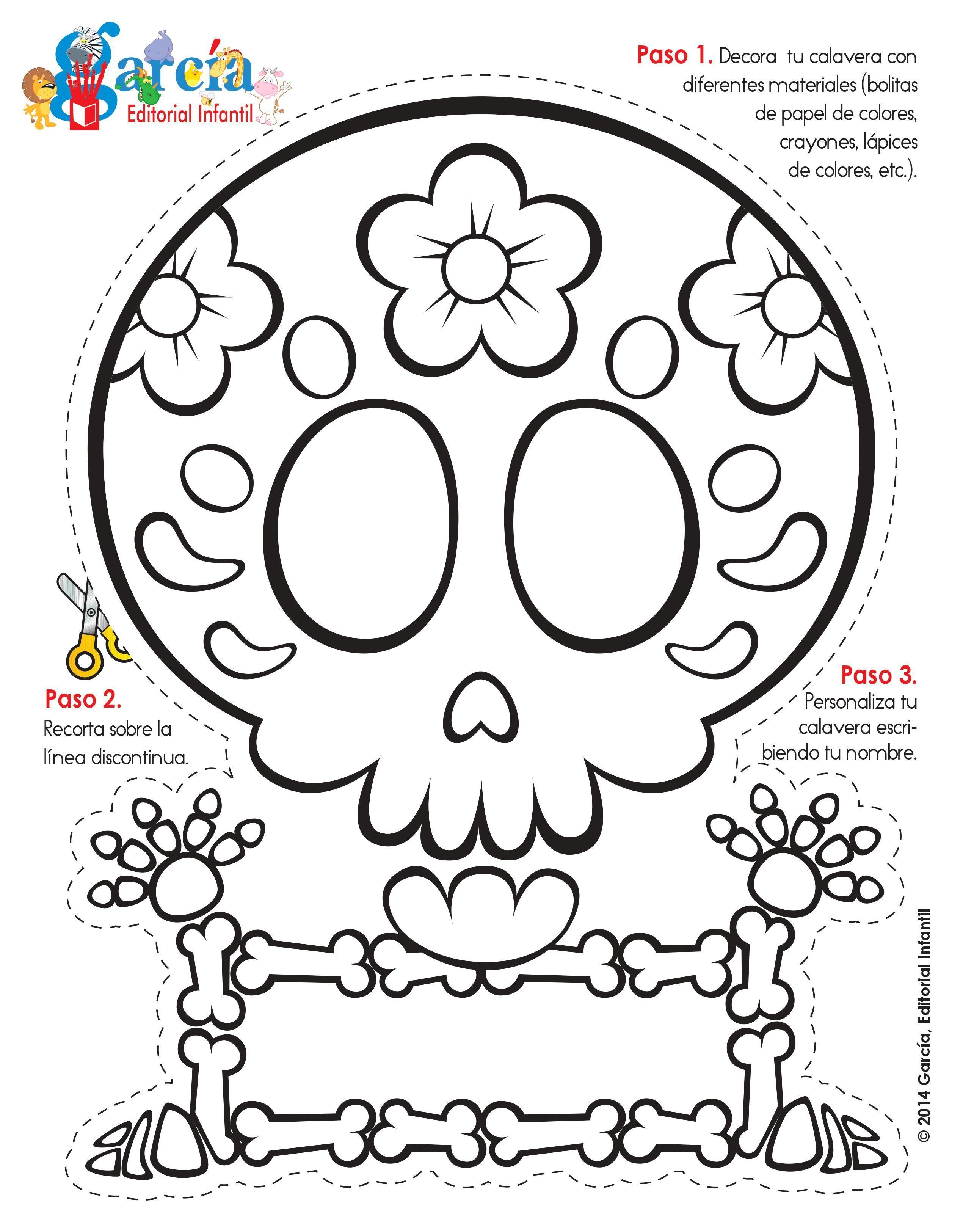 noviembreNoviembre   Dibujo dia de muertos, Dia de muertos y ...