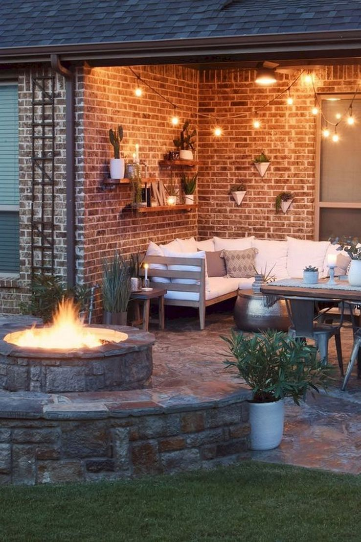 63 The Most Popular Outdoor Living Room Decoration Models Tips To Furnishing Your Outdoor Living Space 43 In 2020