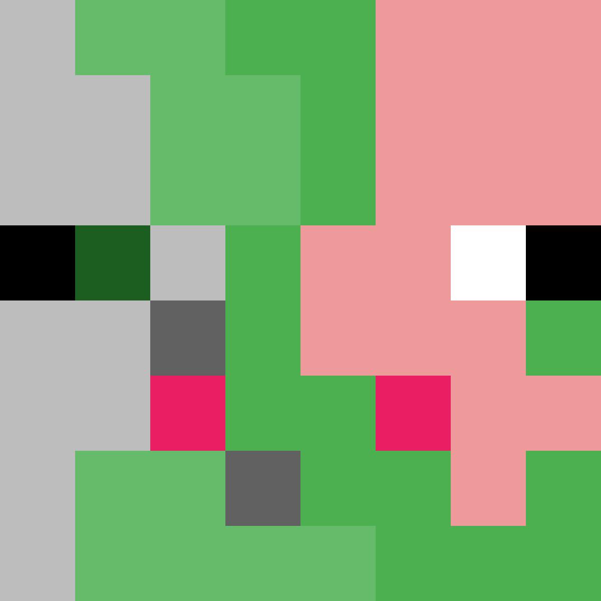 Pixilart - Zombie Pigman. by Anonymous  Pigman, Zombie, Minecraft