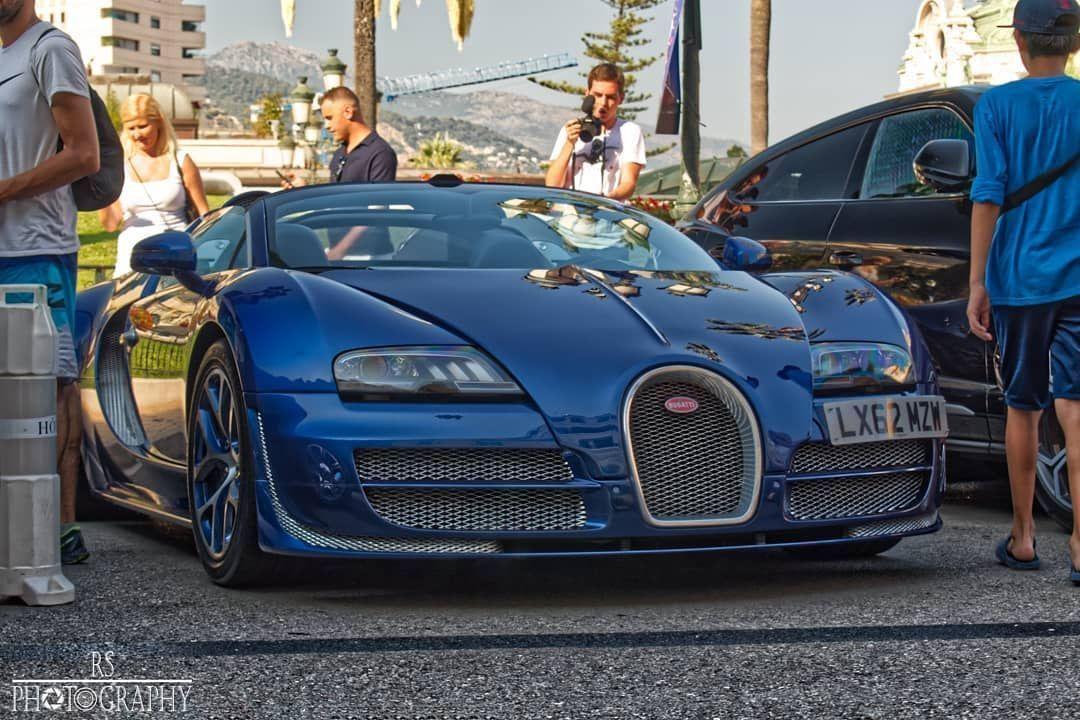 Bugatti Veyron 16 4 Grand Sport Vitesse In Monaco Awesome